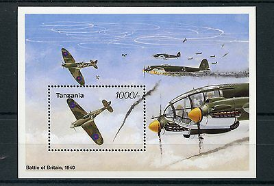 Tanzania 1995 MNH WWII VE Day 50th World War II Battle of Britain 1v S/S Stamps