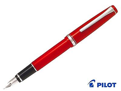 Pilot FE-18SR-R-SM Elabo Fountain Pen Red Soft Medium FE-18SR-RSM