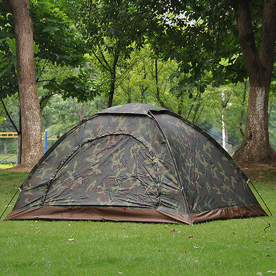 New 4 Season 2 Person Camping Tent Windproof Waterproof Windproof Hiking Outdoor