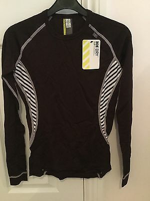 New! Women's Helly Hansen Dry Baselayer Size Small / 10 - Blackberry