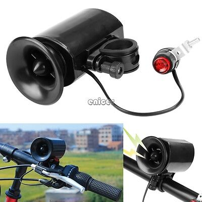 6-sound Bike Bicycle Super-Loud Electronic Siren Horn Bell Ring Alarm ENE