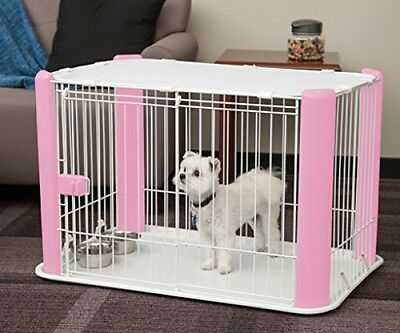 "Iris Ohyama Pet Playpen And Roof ""Free Delivery"""