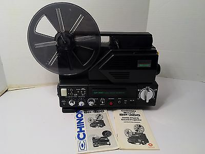 CHINON SOUND SP-350 Motion Picture Projector Twin Track Magnetic