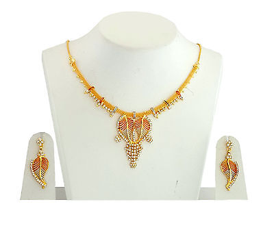 Wholesale Lot of 10 Designer Indian Bollywood Fashion Jewelry Necklace Sets