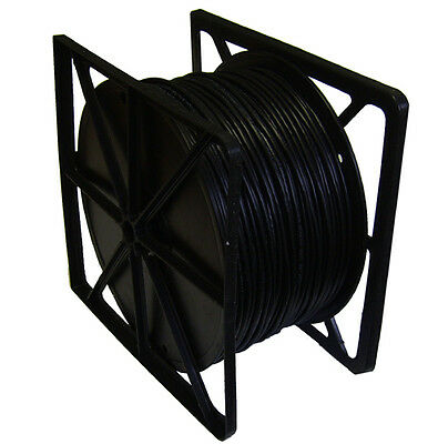 Data Cable Cat6 Solid UTP Cable with External PE Jacket Black 500m