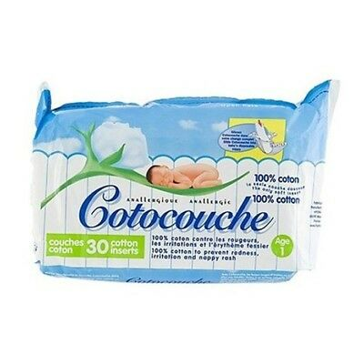 Cotocouche Anallergique - Anti-Irritations 1er âge paquet 30