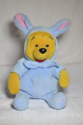 """Disney Winnie The Pooh Beanie Plush EASTER 6"""" Collectable 1999"""