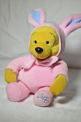 """Disney Winnie The Pooh Beanie Plush EASTER 6"""" Collectable 2000"""