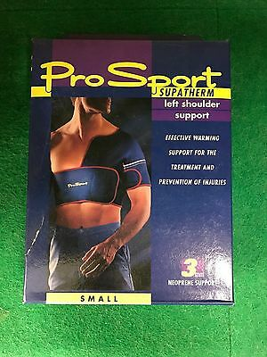 Neoprene Left Shoulder Support 3mm Thick, size Small, RRP £52.99