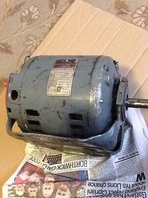 """3 Phase Compton And & Parkinson Motor .33 HP 1425 RPM 5/8"""" Shaft Cash On Collect"""