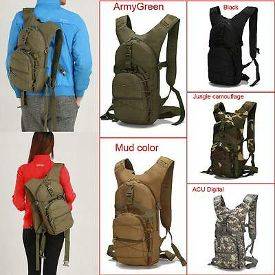 Portable Women Outdoor Waterproof Military Tactical Backpack Cycling Bag