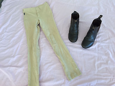Childs Horse Riding Boots and Jodphurs
