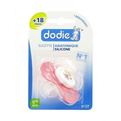Dodie Sucette Anatomique Silicone +18 Mois N37