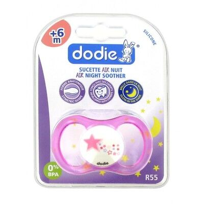 Dodie Sucette Air Nuit Anatomique Silicone 6 Mois+
