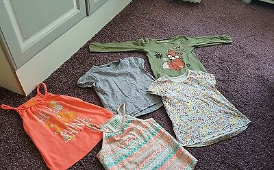 assorted girls tops size 4-5