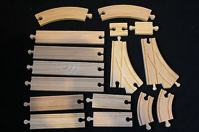 Intermediate Expansion Set for Brio, Thomas and ELC Wooden Train Track
