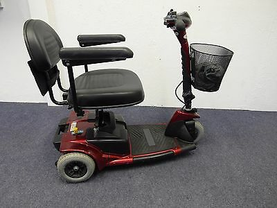 Pico Red Mobility Scooter - With Brand New Batteries