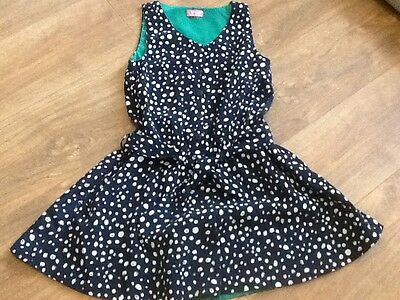 Girls Next Navy Spotty  Playsuit Age 10