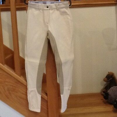Musto Ladies Breeches in Natural (Reg leg length) Size 10/26
