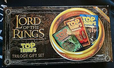 Lord of the Rings - Top Trumps Trilogy Gift Set