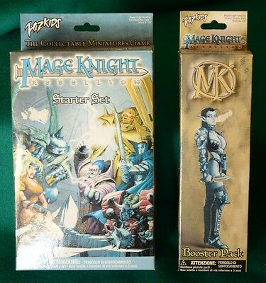 Wizkids Mage Knight ribellione Starter kit+booster pack