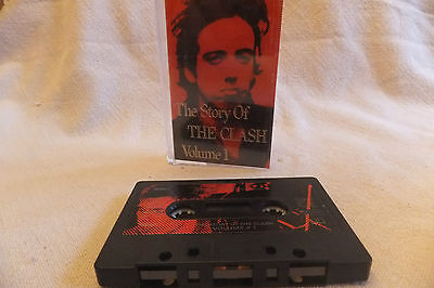 THE CLASH  - The Story Of The Clash Vol 1 Tape 2 - Music Cassette - 1988 VG