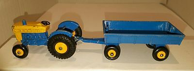 Matchbox Lesney FORD TRACTOR & HAY TRAILER 39 C & 40 C ~ Made in England in 1967