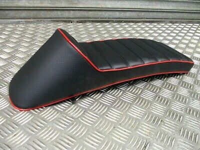Lambretta s3 GP TV LI SX LI quality race seat saddle stunning black/red