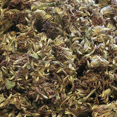 RED CLOVER FLOWER Trifolium pratense DRIED Herb, Loose Whole Tea 250g