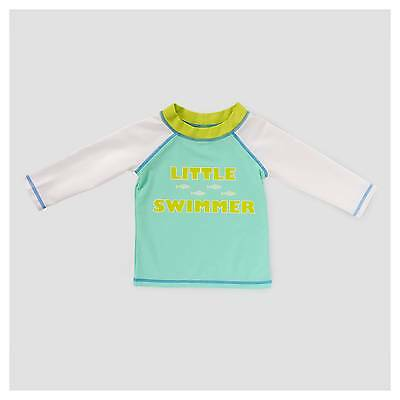 Baby Boys' Little Swimmer Rash Guard Cat & Jack™ - Aqua