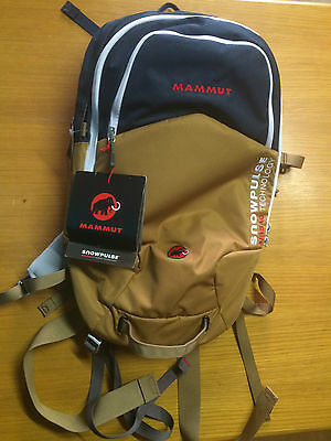 New Mammut Rocker 15 Removable avalanche airbag, incl RAS lawinen rucksack