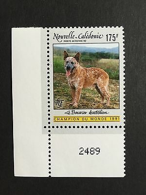 Chien Nouvelle Caledonie Timbre Neuf Pa 92 Stamp Dog Mint New Caledonia