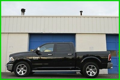 2013 Ram 1500 Laramie Crew Cab 5.7L Hemi 4X4 4WD Nav Loaded Save Repairable Rebuildable Salvage Runs Great Project Builder Fixer Easy Fix Save