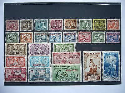 Timbres Colonies Francaises
