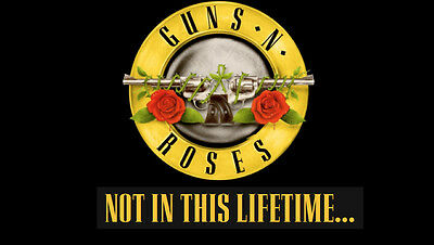 2 x Guns N Roses Standing Tickets London Stadium Saturday 17th June 2017