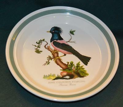 Portmeirion BIRDS OF BRITAIN Salad Plate: ROSE COLOURED STARLING