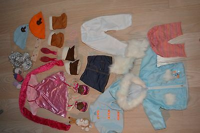 Smoby Rosie doll clothes bundle