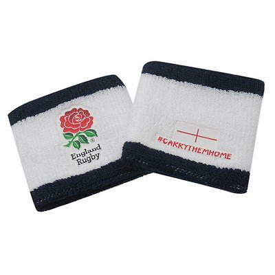 Official Licensed England Rugby Union Wristbands Sweatbands Pair