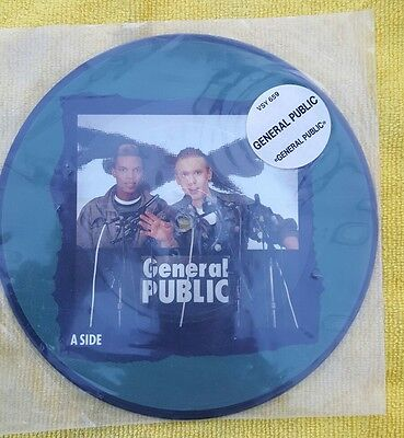 General Public-General Public 7 Inch Picture Disc NEVER PLAYED with Sticker
