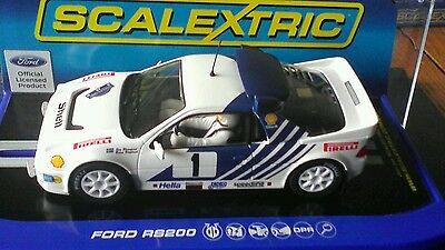 Scalextric C3493 Ford RS200 - Stig Blomqvist, Rally Sweden 1986