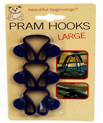 Pram Hooks - Pack of 3