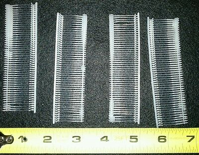 """5000 Natural Price Tag 1"""" Barbs Fasteners Attachments for Tag Guns Top Quality"""