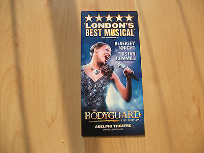 **The Bodyguard The MUsical At Adelphi Theatre London Beverly Knight**