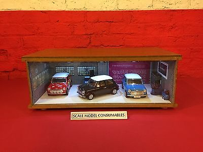 1:18 1/18 1-18 118 Scale Mini Complete Diorama Garage With Tools & Cars