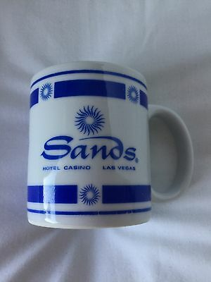 Vintage Mug The Sands Hotel And Casino Las Vegas (where Howard Hughes And The Ra