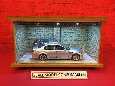 1:18 1/18 1-18 118 Scale Bmw M5 Complete Diorama Garage With Tools & Cars