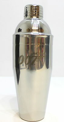 James Bond 007 Silver Martini Cocktail Shaker - As Seen In Spectre *new & Boxed