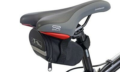 M-Wave Bicycle Cycle Weather Resistant Saddle Seat Bag Pouch Rear Storage
