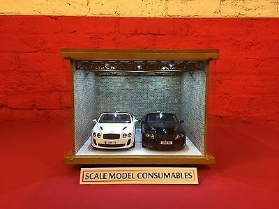1:18 1/18 1-18 118 Scale Bentley Complete Diorama Garage With Tools & Cars