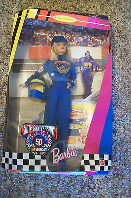 Nascar Barbie...1998...New in Box...50th Anniversary...Collector's Edition